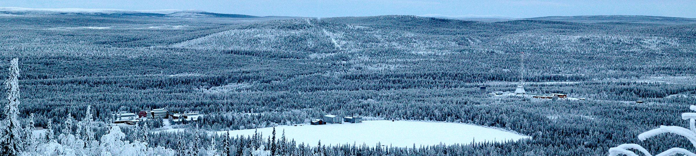 Esrange in winter